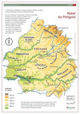 Cartographie dordogne relief 01