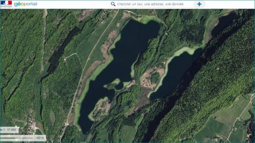 Lac d illay et du grand maclu