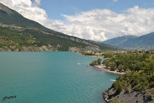 Lac de serre poncon 03