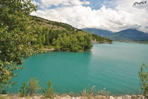 Lac de serre poncon 04
